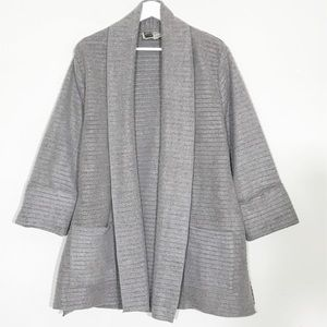Habitat Clothes to Live In Soft Gray Cardigan M
